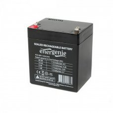 Аккумуляторная батарея EnerGenie 12V 4.5Ah (BAT-12V4.5AH) Комплектующие Аккумуляторы 12В, 292.00 грн.