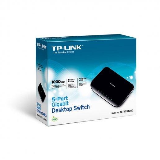 Коммутатор TP-Link TL-SG1005D Сетевое оборудование Коммутаторы, 376.00 грн.