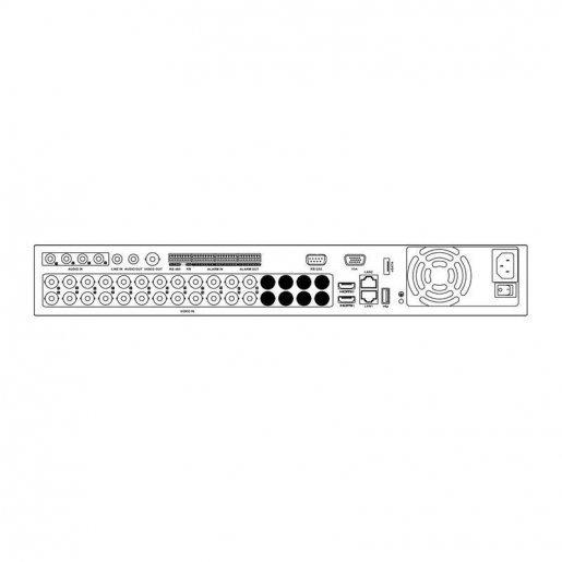 DS-7324HUHI-K4 DVR-регистратор 24-канальный Hikvision Turbo HD+AHD DS-7324HUHI-K4 Регистраторы DVR аналоговые видеорегистраторы, 28000.00 грн.