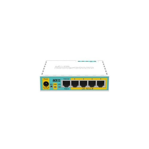 Маршрутизатор Mikrotik RouterBoard hEX PoE lite RB750UPr2 Сетевое оборудование Маршрутизаторы, 1532.00 грн.