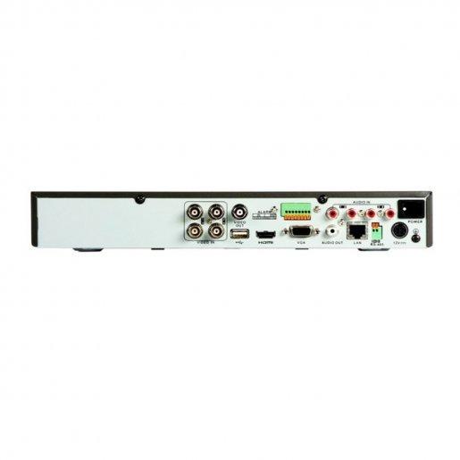 DVR-регистратор 4-канальный Hikvision Turbo HD DS-7204HUHI-F2/N Регистраторы DVR аналоговые видеорегистраторы, 3967.00 грн.
