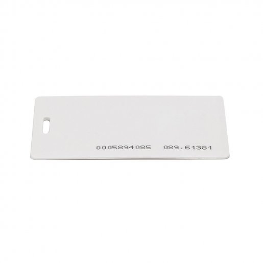 Бесконтактная карта Tecsar Trek EM-Marine 1,6 мм белая с прорезью Периферия Электронные ключи, 16.00 грн.