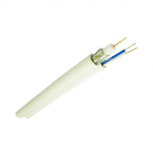 Кабель комбинированный RG-59 F5967Bcu+2*0,75 , In (Одескабель) Кабельная продукция Коаксиальный кабель, 12.00 грн.