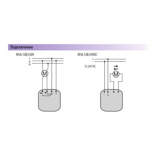 Модуль управления жалюзи iNELS RFJA-12B/230 Умный дом Управление шторами и жалюзи, 2783.00 грн.