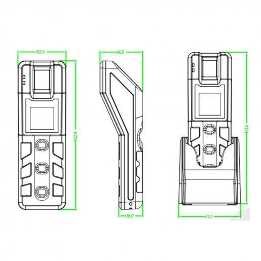 Система патрулирования для контроля работы охраны ZKTeco PT100 Биометрия Учет рабочего времени, 11925.00 грн.
