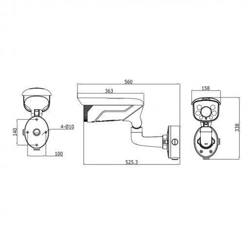 Уличная IP-камера Hikvision DS-2CD4625FWD-IZ (8-32) Камеры IP камеры, 28244.00 грн.