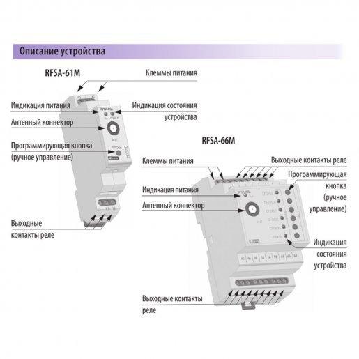 6-канальное беспроводное реле iNELS RFSA-66M Умный дом Диммеры, 6652.00 грн.
