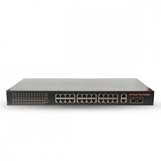 POE коммутатор 28-портовый Tecsar TS-2422sfp Комплектующие POE - коммутаторы, 10865.00 грн.