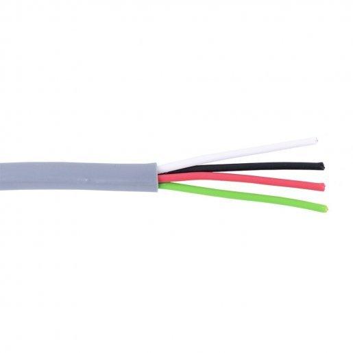 Кабель сигнальный, 4*0.22mm, НЕ экран, Биметалл Кабельная продукция Сигнальный кабель, 3.00 грн.