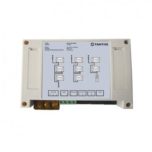 Блок питания домофонов Tantos TS-PW Видеодомофоны Модули, 2081.00 грн.