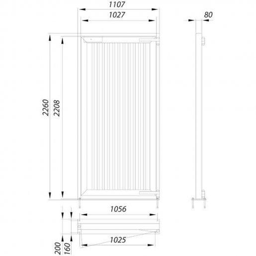 Аварийные двери Steelarm Турникеты Калитки и оборудование, 32463.00 грн.