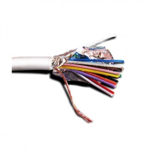 Кабель сигнальный 10х0,22мм экранированный биметалл Кабельная продукция Сигнальный кабель, 7.00 грн.