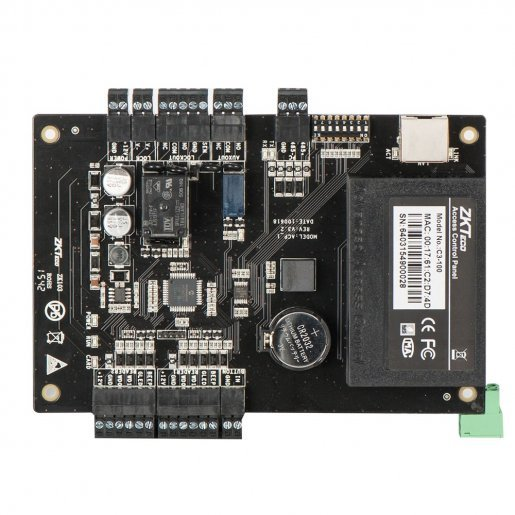 Контроллер доступа ZKTeco С3-100 на 1 дверь Контроллеры СКУД Сетевые контроллеры, 5300.00 грн.
