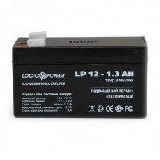 Аккумулятор LogicPower LP 12V 1,3AH (LP 12-1.3AH) Комплектующие Аккумуляторы 12В, 155.00 грн.