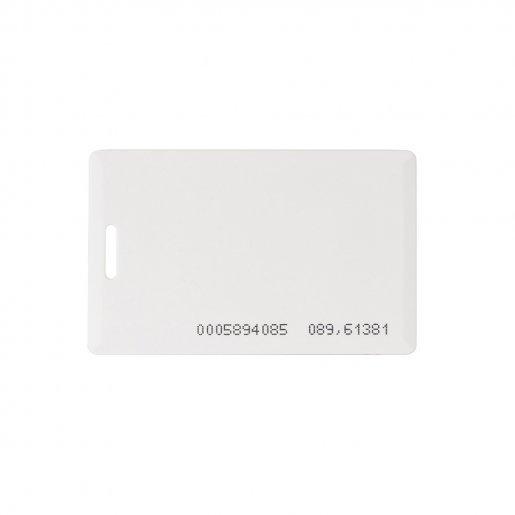 Набор 500 шт. Бесконтактная карта Tecsar Trek EM-Marine 1,6 мм белая с прорезью Периферия Электронные ключи, 4770.00 грн.