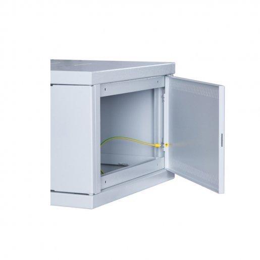 Телекоммуникационный шкаф настенный СН-9U-06-06-ДС-1-7035 Телекоммуникационные шкафы и стойки Шкафы настенные, 2279.00 грн.
