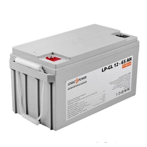 Аккумулятор LogicPower LP-GL 12V 65AH (LP-GL 12 - 65 AH) Комплектующие Аккумуляторы 12В, 3843.00 грн.