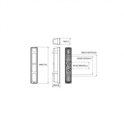 Инфракрасный барьер Optex SL-650QN Датчики для сигнализации Охрана периметра, 13515.00 грн.