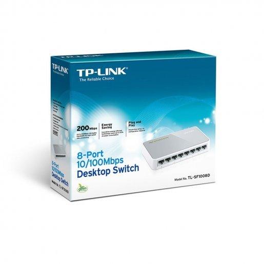 Коммутатор TP-Link TL-SF1008D Сетевое оборудование Коммутаторы, 279.00 грн.