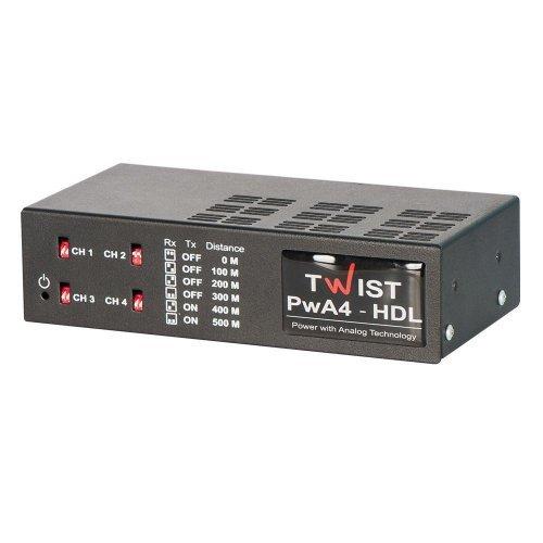 Комплект усилителей TWIST-PwA-4-HDL Комплектующие Приемопередатчики, 7420.00 грн.