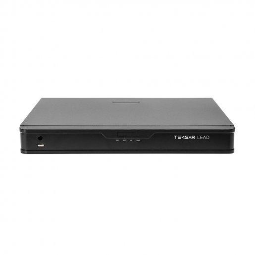 Сетевой видеорегистратор Tecsar Lead NVR-L-16CH2H-5-1U v2 Регистраторы NVR сетевые видеорегистраторы, 5830.00 грн.