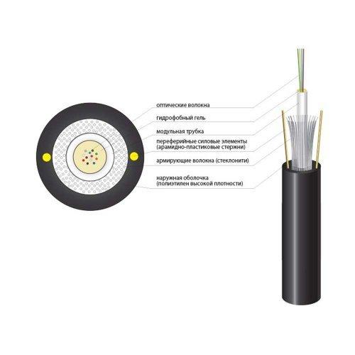 Оптический кабель Finmark UT012-SM-15, ADSS Кабельная продукция Оптический кабель, 10.00 грн.