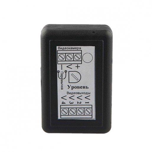 Видеоусилитель-разветвитель сигнала ВУР 1х4 клеммный Комплектующие Приемопередатчики, 401.00 грн.