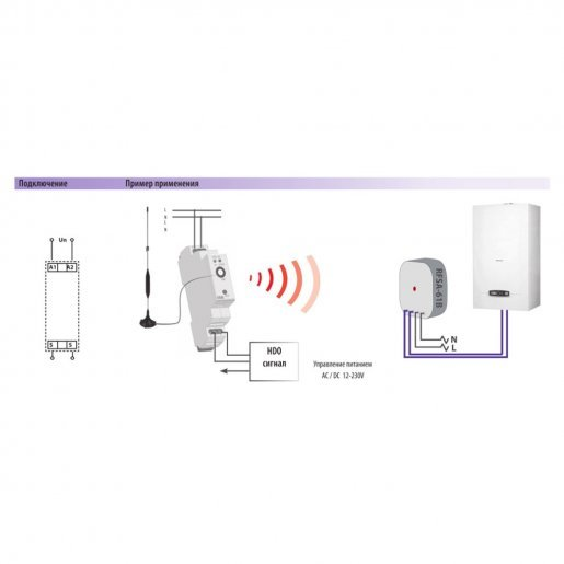 Универсальный передающий модуль iNELS RFSG-1M /230 V Умный дом Диммеры, 2968.00 грн.