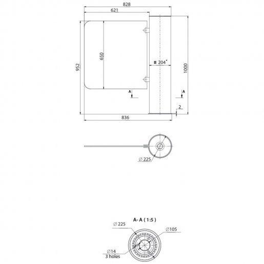 Турникет-калитка Steelarm Gate-GS Турникеты Калитки и оборудование, 58804.00 грн.