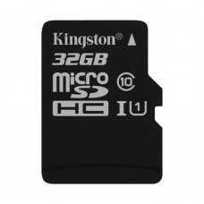 Карта памяти Kingston MicroSDHC/MicroSDXC 32GB Canvas Select Class 10 UHS-I (SDCS/32GBSP) Накопители видеоархива SD-карты, 149.00 грн.