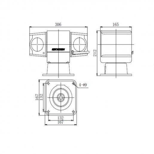 Роботизированная (SPEED DOME) Hikvision DS-2DY5223IW-AE (PTZ 23x 1080p) Камеры IP камеры, 53900.00 грн.