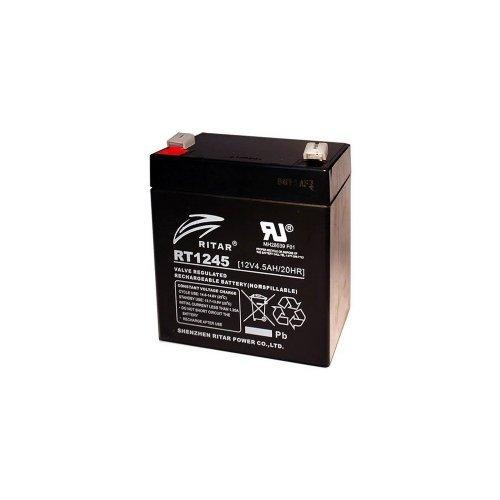 Аккумуляторная батарея RITAR AGM RT1245 black 12V 4.5Ah Комплектующие Аккумуляторы 12В, 371.00 грн.