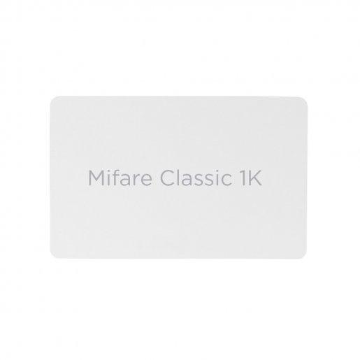 Бесконтактная карта Tecsar Trek Mifare Classic 1K 0,8 мм белая Периферия Электронные ключи, 18.00 грн.