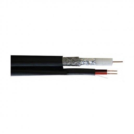 Кабель комбинированный, RG690BV CU+2x0.75power, Out (Finmark) Кабельная продукция Коаксиальный кабель, 14.00 грн.