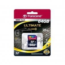 Карта памяти Transcend SDXC 64GB Class 10 (TS64GSDXC10) Накопители видеоархива SD-карты, 674.00 грн.