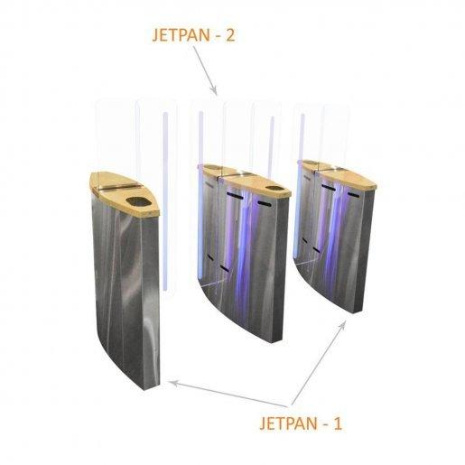 Полу-ростовой турникет Steelarm Jetpan Турникеты Freeway, 252174.00 грн.