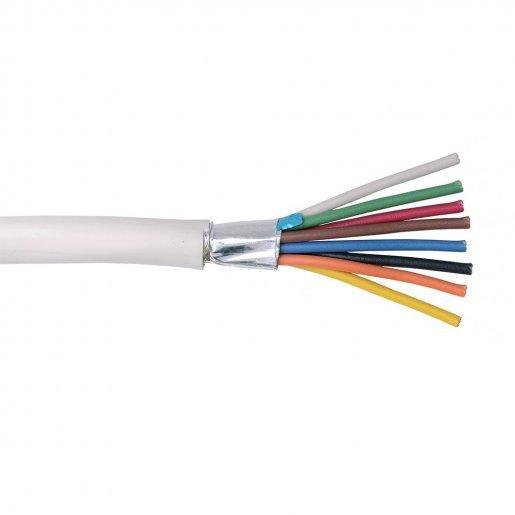 Кабель сигнальный, 8*0.22mm, экран, Биметалл Кабельная продукция Сигнальный кабель, 5.00 грн.