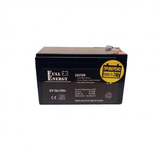 Аккумуляторная батарея Full Energy 12V 7Ah (FE-7-12) Комплектующие Аккумуляторы 12В, 371.00 грн.
