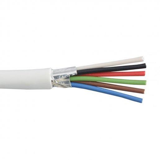 Кабель сигнальный, 6*0.22mm, экран, Биметалл Кабельная продукция Сигнальный кабель, 4.00 грн.