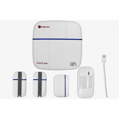 Smart Safe 868 Комплект сигнализации PoliceCam Smart & Safe 868 Wi-Fi + GSM Готовые комплекты сигнализаций Беспроводные комплекты, 3440.00 грн.