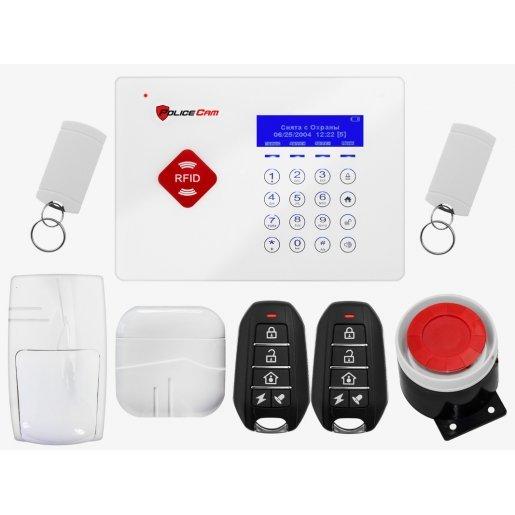 GSM 66A Prof Комплект сигнализации PoliceCam GSM 66A Prof Готовые комплекты сигнализаций Беспроводные комплекты, 2620.00 грн.