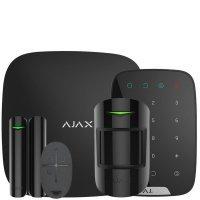 Ajax StarterKit + KeyPad – Комплект беспроводной сигнализации Ajax с клавиатурой – черный