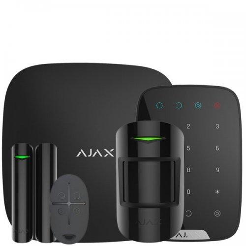 Starterkit Ajax StarterKit + KeyPad – Комплект беспроводной сигнализации Ajax с клавиатурой – черный Готовые комплекты сигнализаций Беспроводные комплекты, 7388.00 грн.